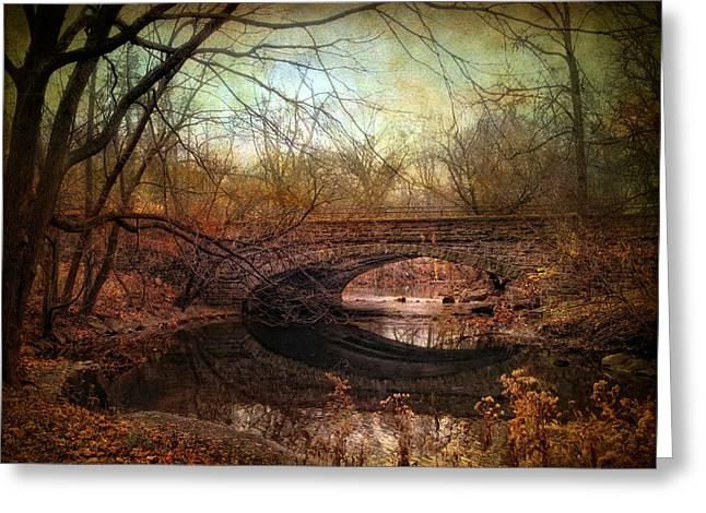 Stone Bridge Greeting Cards - Stone Bridge Greeting Card by Jessica Jenney