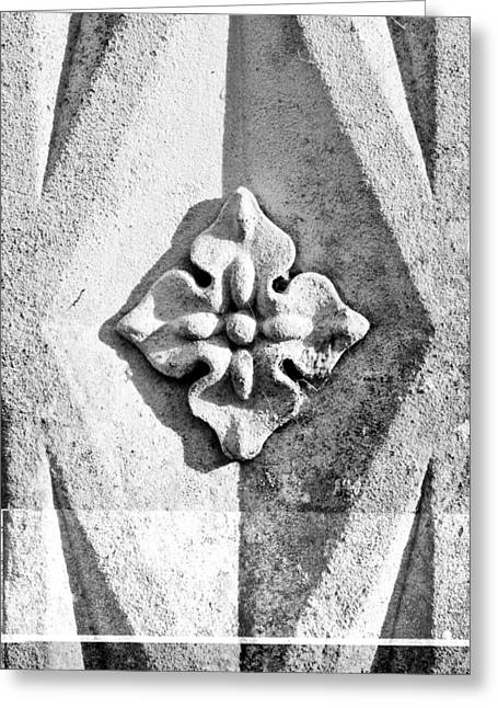 Concrete Sculpture Greeting Cards - Stone carving Greeting Card by Tom Gowanlock