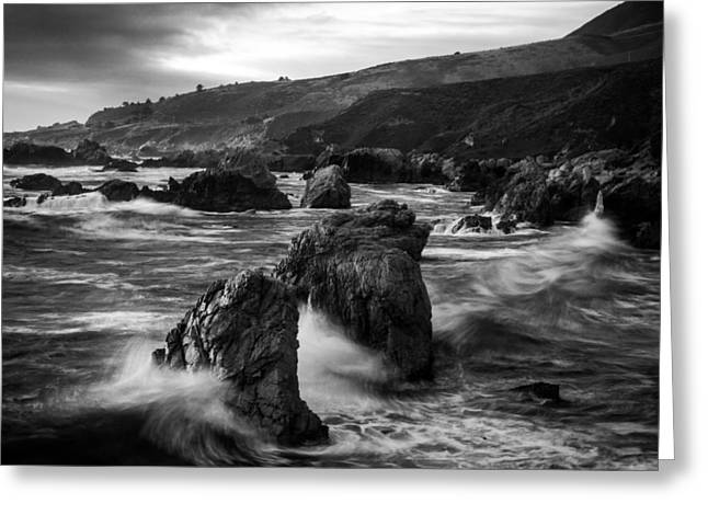 Dayne Greeting Cards - Stone Cold Soberanes Greeting Card by Dayne Reast