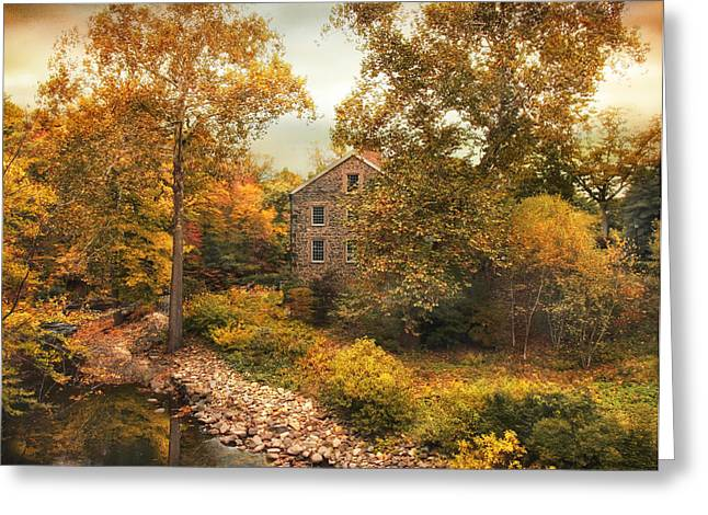 Stone Mill Views Greeting Card by Jessica Jenney