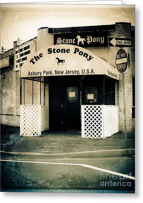 Original Photographs Greeting Cards - Stone Pony Greeting Card by Colleen Kammerer