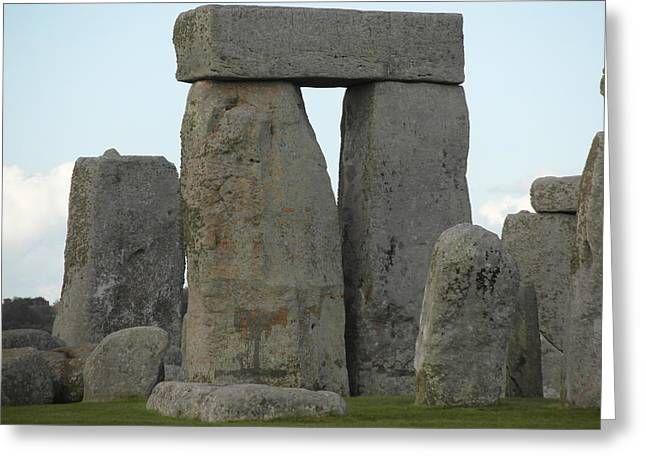 Ley Lines Greeting Cards - Stonehenge 6 Greeting Card by Paul Inman