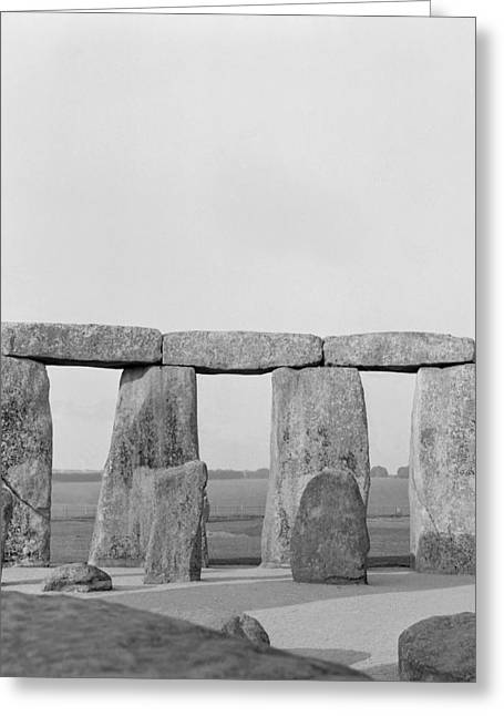 Stone Circle Greeting Cards - Stonehenge Greeting Card by Anonymous