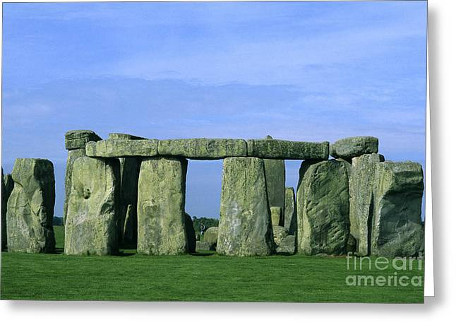 Monolith Greeting Cards - Stonehenge Greeting Card by Bill Bachmann