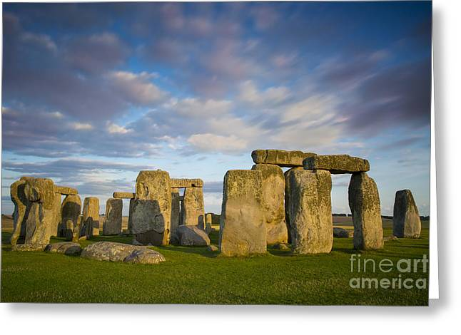 Amesbury Greeting Cards - Stonehenge Greeting Card by Brian Jannsen