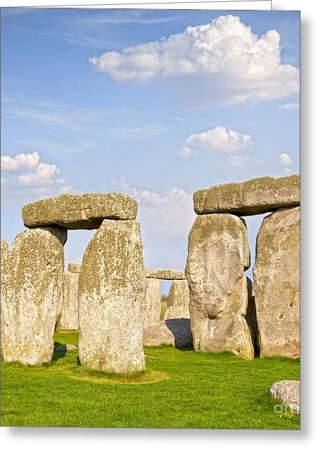 Henge Greeting Cards - Stonehenge  Greeting Card by Colin and Linda McKie