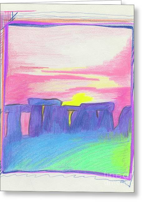 Stonehenge  Greeting Card by First Star Art
