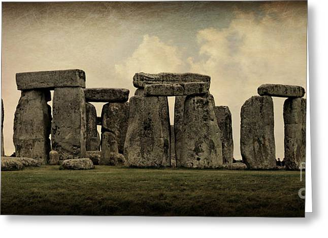 Amesbury Greeting Cards - Stonehenge -- Mood 3 Greeting Card by Stephen Stookey