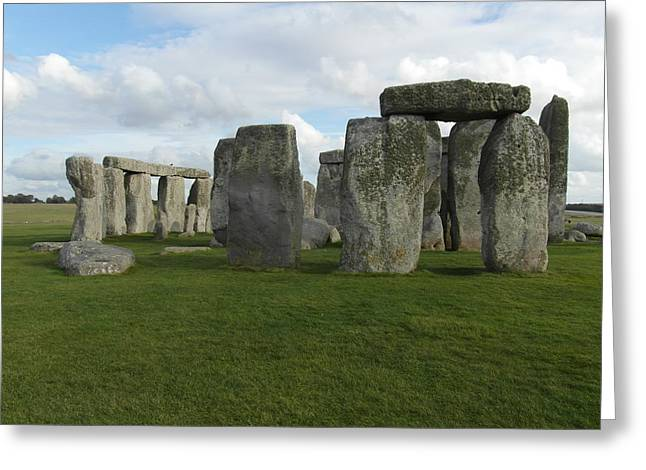 Ley Lines Greeting Cards - Stonehenge Greeting Card by Paul Inman
