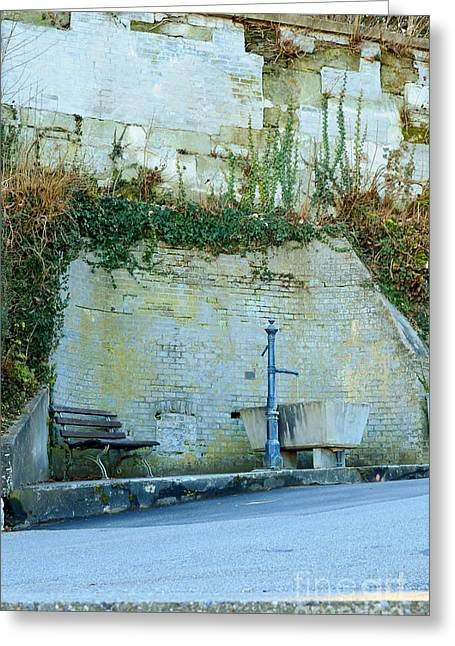 Flowing Wells Greeting Cards - Stones And Water Greeting Card by Felicia Tica