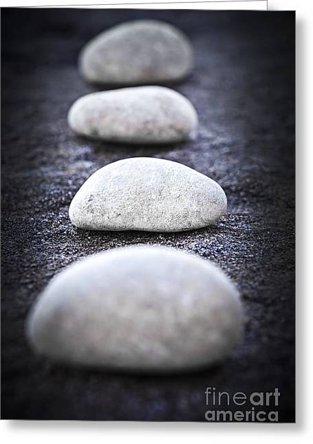 Stones Greeting Cards - Stones Greeting Card by Elena Elisseeva