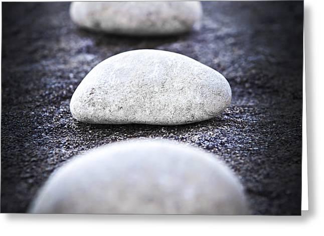 Stones Greeting Card by Elena Elisseeva