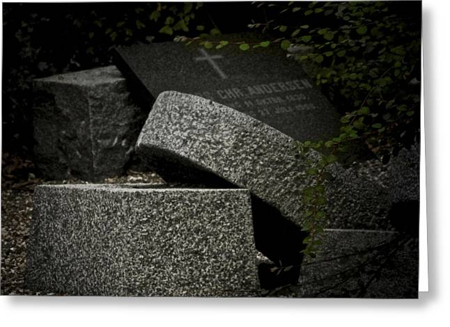Headstones Greeting Cards - Stones In My Passway Greeting Card by Odd Jeppesen