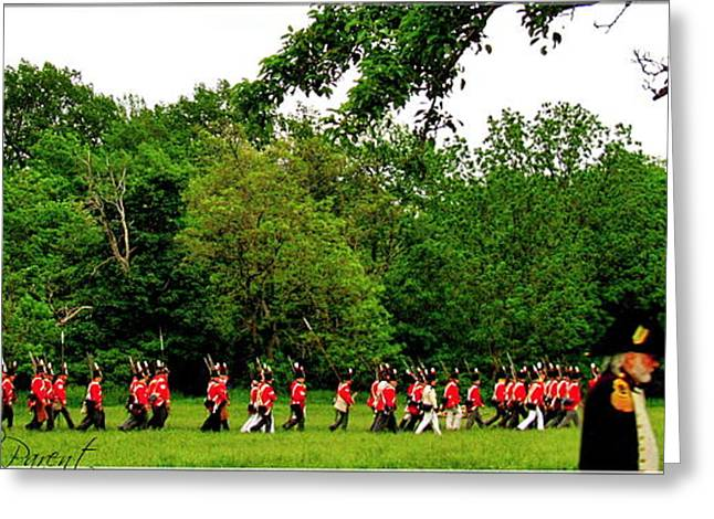 Bayonet Greeting Cards - Battle of Stoney Creek 1812 Greeting Card by Danielle  Parent