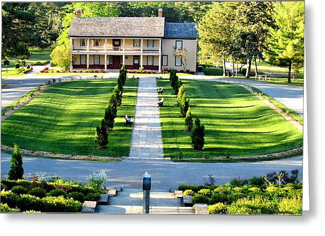 Stoney Creek Greeting Cards - Stoney Creek Battlefield House Greeting Card by Danielle  Parent