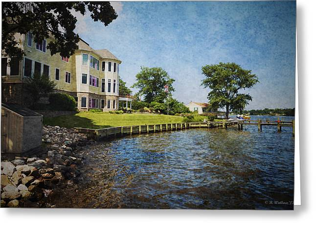 Shed Digital Art Greeting Cards - Stoney Creek Greeting Card by Brian Wallace