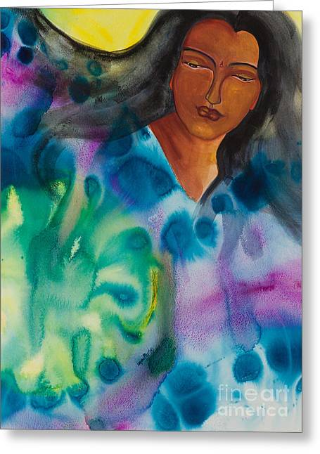 Universal Paintings Greeting Cards - Strong Women of the World   Inventive Greeting Card by Ilisa  Millermoon