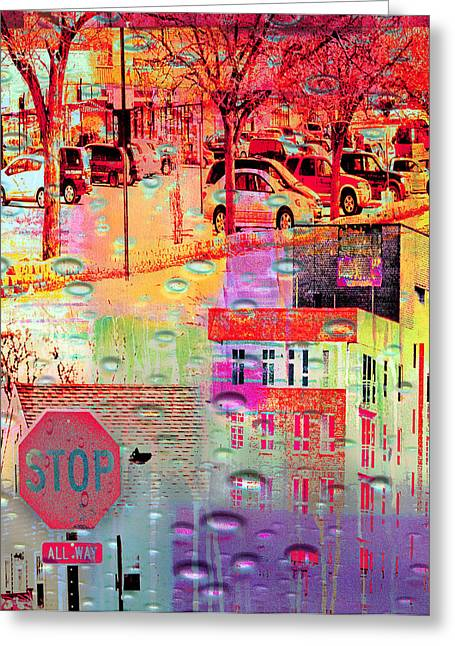 Minnesota Photo Greeting Cards - Stop in St. Louis Park Greeting Card by Susan Stone