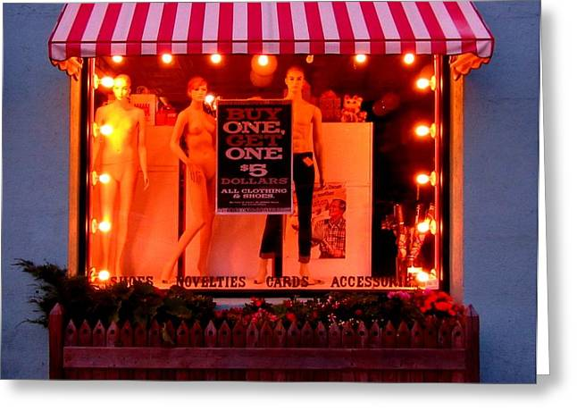 Store Fronts Greeting Cards - Store Front Greeting Card by John Malone
