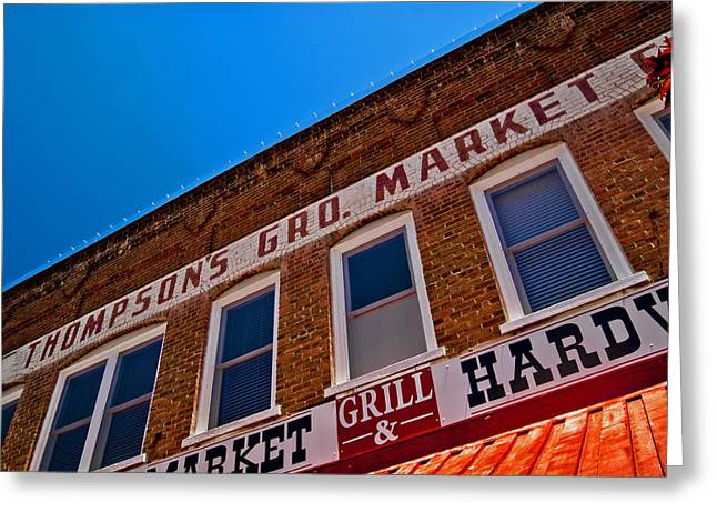 Store Fronts Greeting Cards - Store Front Greeting Card by Patrick Moore