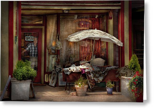 Hdr Look Greeting Cards - Storefront - Frenchtown NJ - The Boutique Greeting Card by Mike Savad
