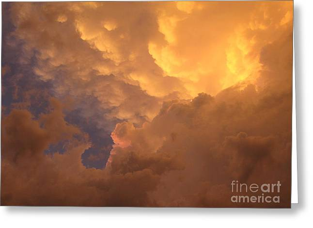 Sunset After A Storm Greeting Cards - Storm 274 Greeting Card by AD Bedard