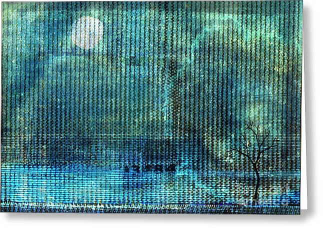 Moonscape Greeting Cards - Storm Greeting Card by Andy  Mercer