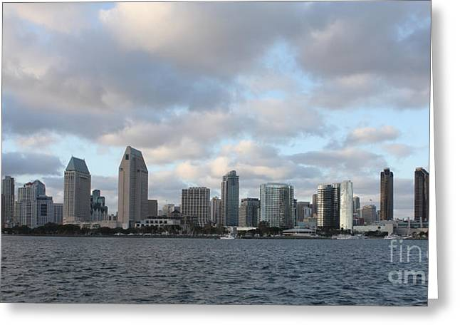 Storm Prints Greeting Cards - Storm Approaching San Diego  Greeting Card by John Telfer