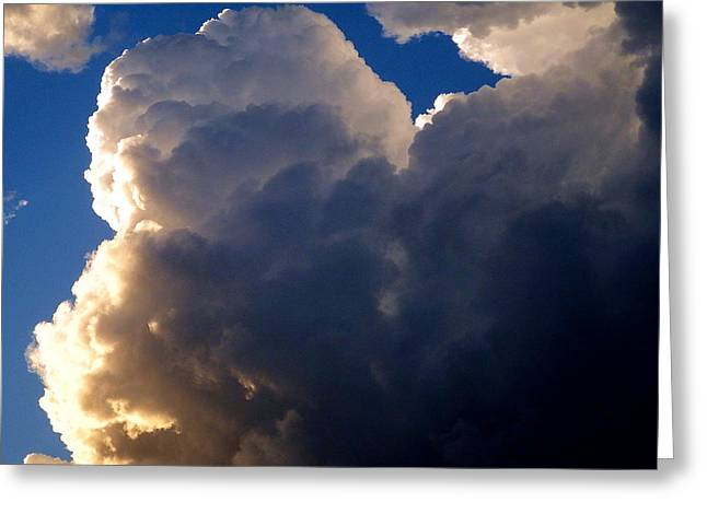 Storm Digital Greeting Cards - Storm Clouds 2 Greeting Card by David G Paul