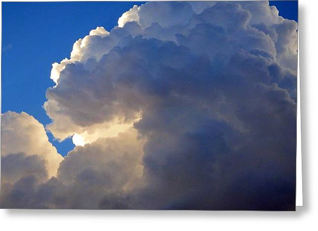Storm Digital Greeting Cards - Storm Clouds 3 Greeting Card by David G Paul