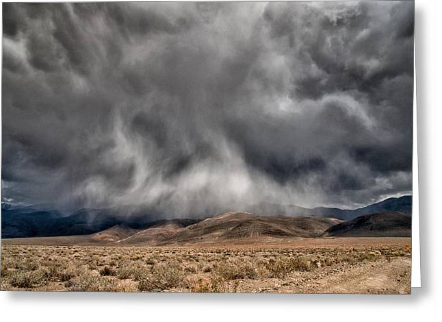 Storm Clouds Greeting Cards - Storm Clouds Greeting Card by Cat Connor
