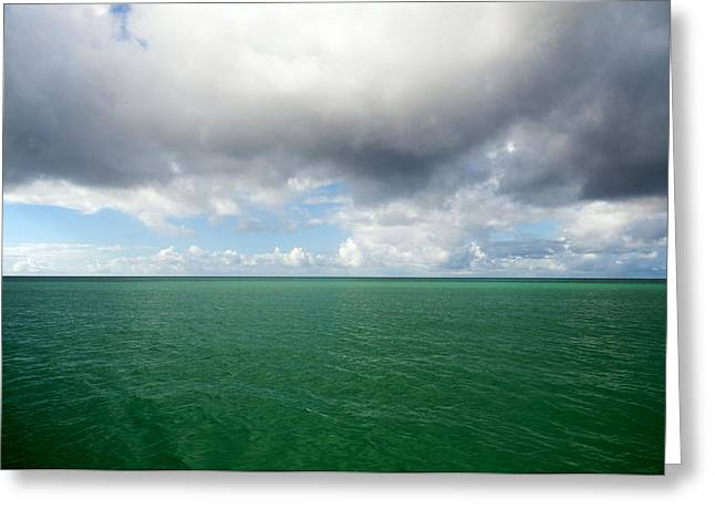 Storm clouds gathering Greeting Card by Fabrizio Troiani