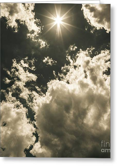 Summer Storm Greeting Cards - Storm clouds gathering Greeting Card by Ryan Jorgensen