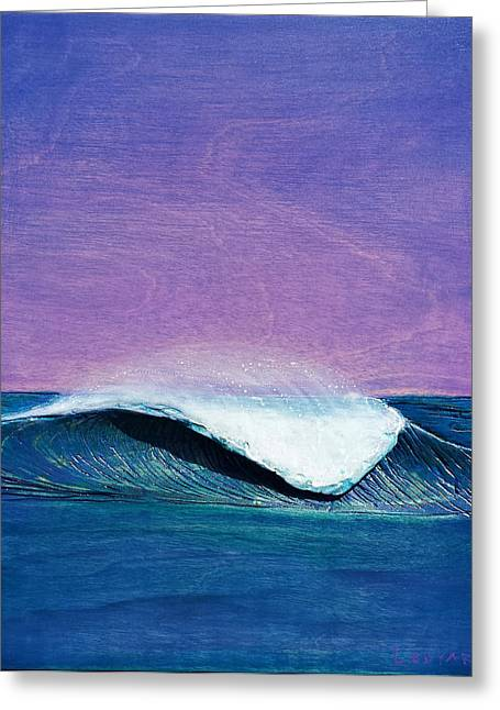 Ocean Reliefs Greeting Cards - Storm Clouds Greeting Card by Nathan Ledyard