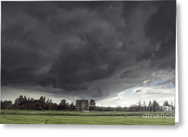 Summer Storm Greeting Cards - Storm Greeting Card by Colin Woods