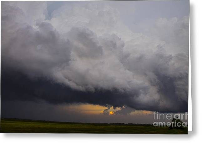 Storm Chasing Greeting Cards - Storm Greeting Card by Francis Lavigne-Theriault