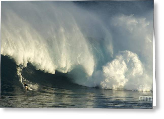 Surfing Photos Greeting Cards - Storm Front Greeting Card by Bob Christopher