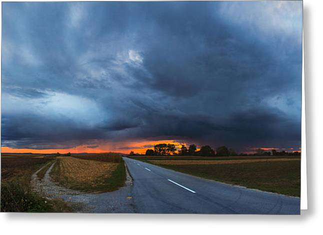 Storm is coming Greeting Card by Davorin Mance