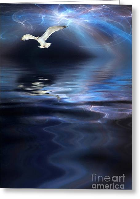 Bible Digital Art Greeting Cards - Storm Greeting Card by John Edwards
