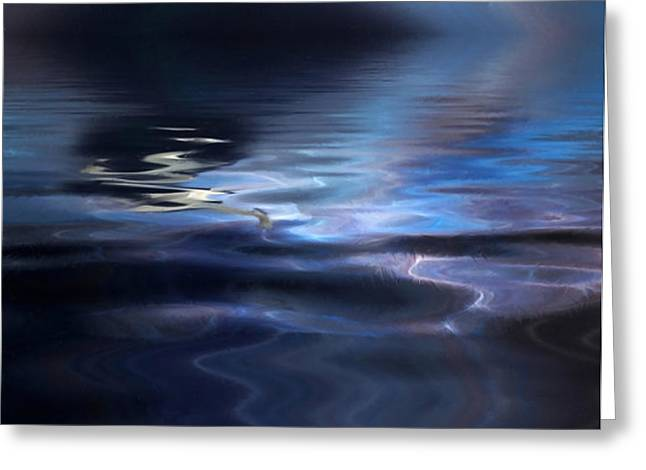 Storm Greeting Card by John Edwards