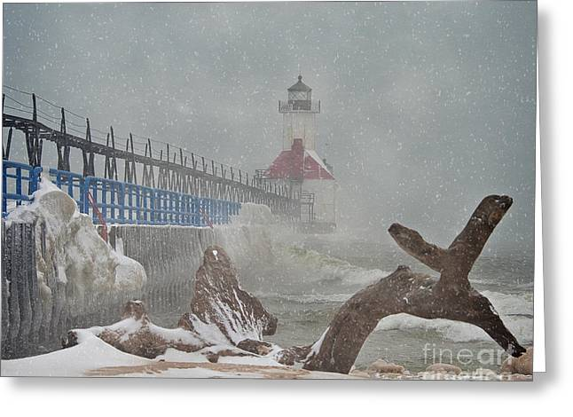 Saint Joseph Greeting Cards - Storm Greeting Card by John Remy