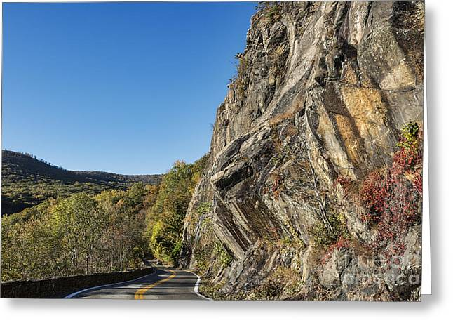 Scenic Drive Greeting Cards - Storm King State Park Greeting Card by John Greim
