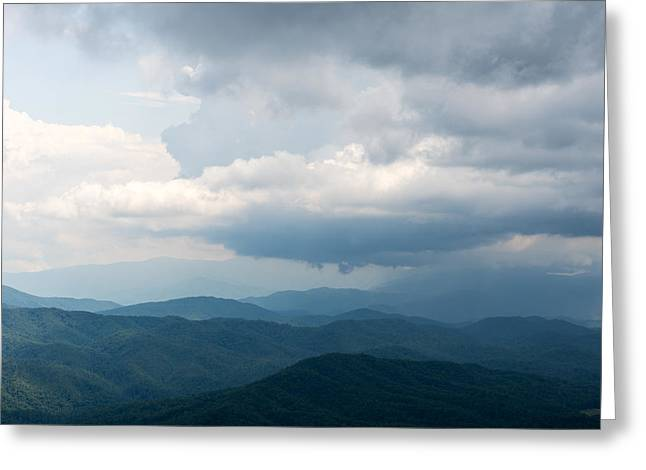 Tn Greeting Cards - Storm Moving In Greeting Card by John Carroll