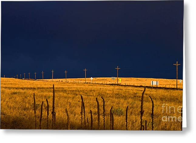 Storm Of Redemption Greeting Card by Barbara Schultheis