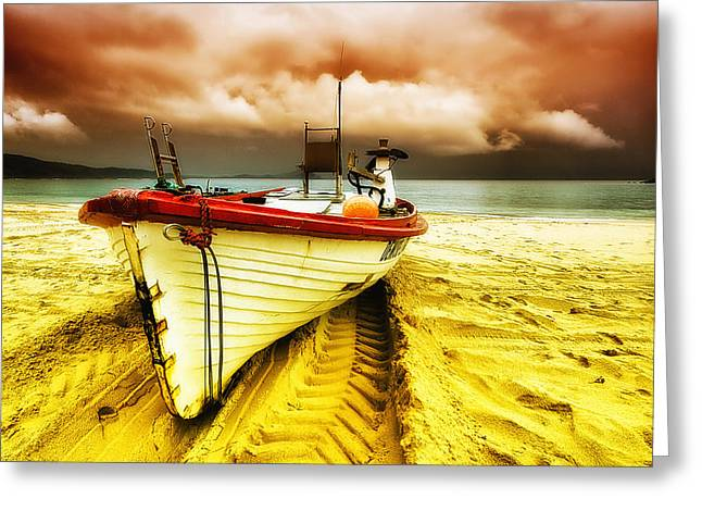 Storm On The Way 01 Greeting Card by Kevin Chippindall