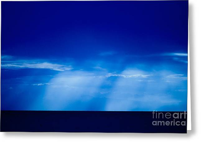 Storm Over Camotes Greeting Card by Hank Taylor