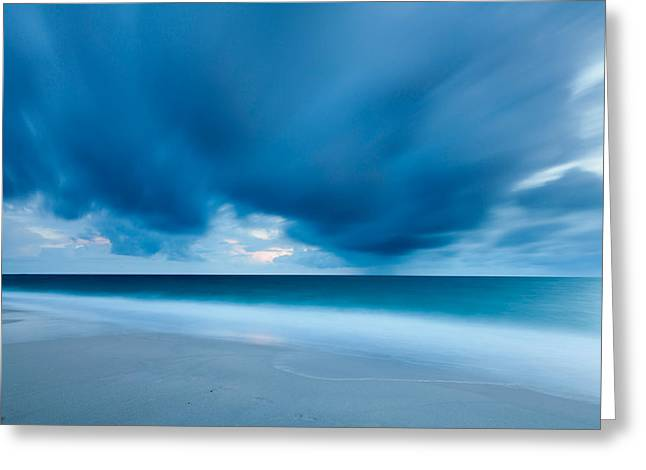 Beach Photography Greeting Cards - Storm Over The Sea, Sylt Greeting Card by Panoramic Images