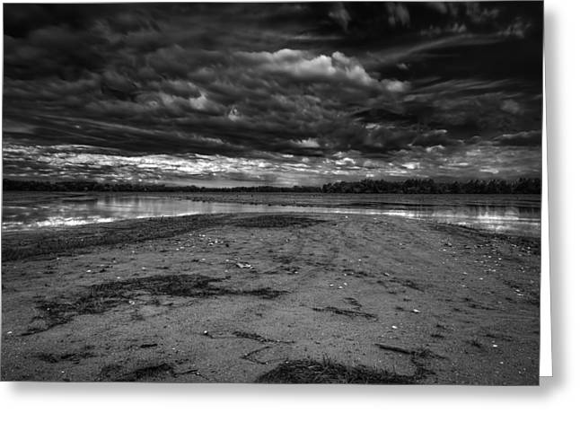 Over-exposed Greeting Cards - Storm Passing Greeting Card by Thomas Young