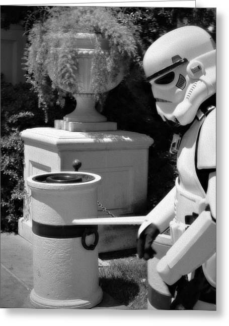 Roleplaying Greeting Cards - Storm Trooper Greeting Card by See My  Photos