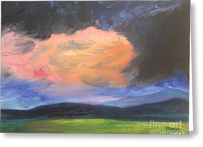 Stormchaser Greeting Card by PainterArtist FIN